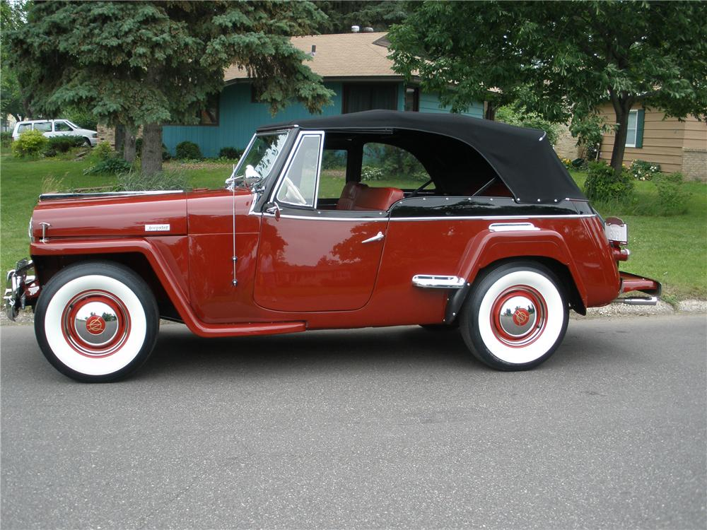 Willys jeepster photo - 8
