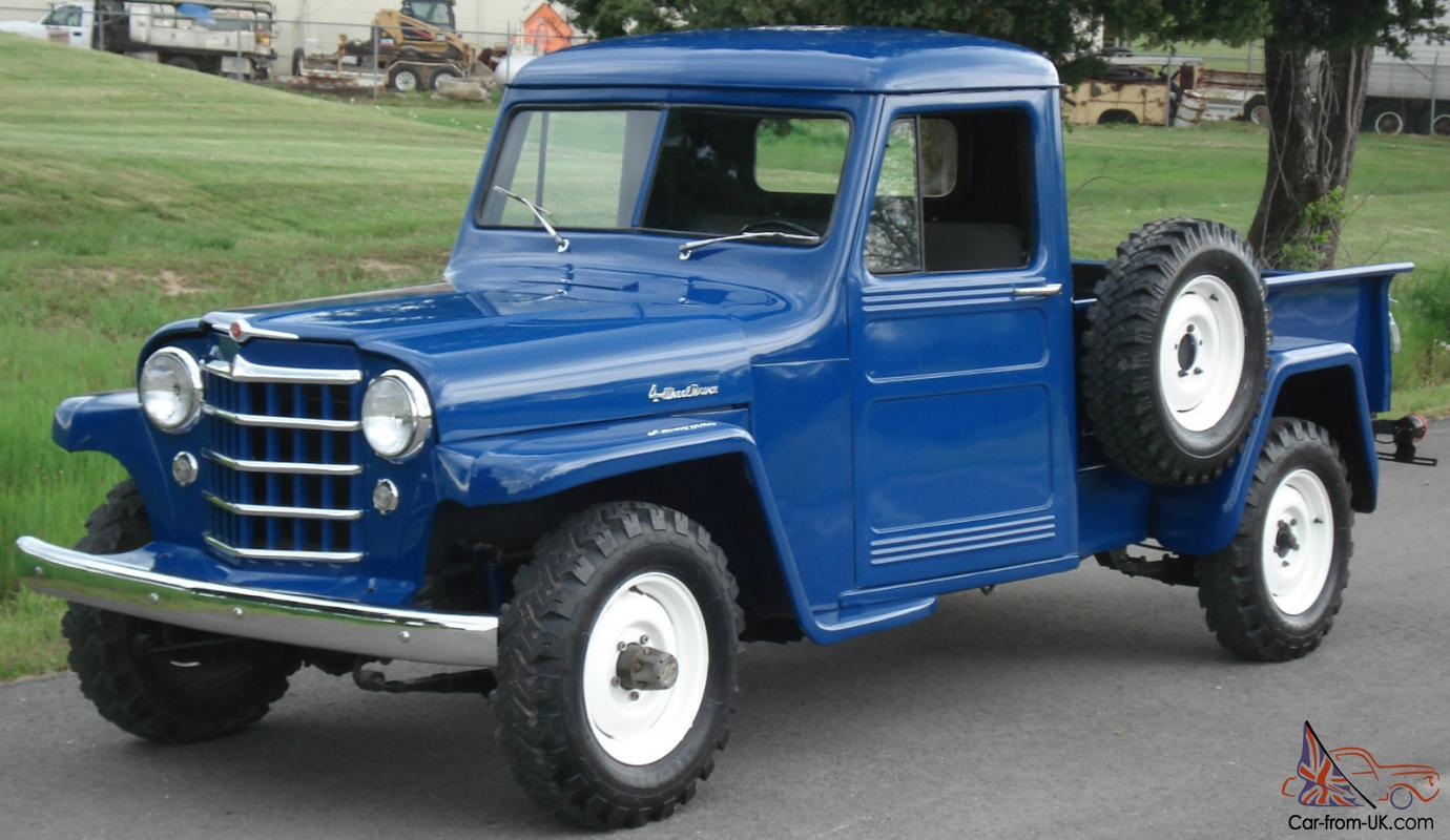 Willys pickup photo - 2