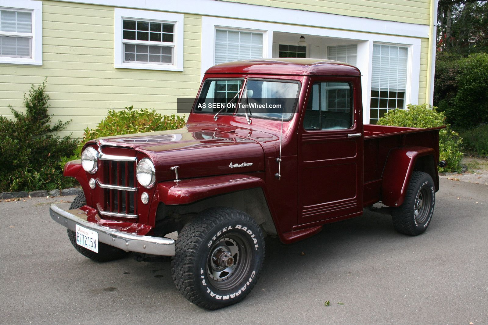 Willys pickup photo - 3