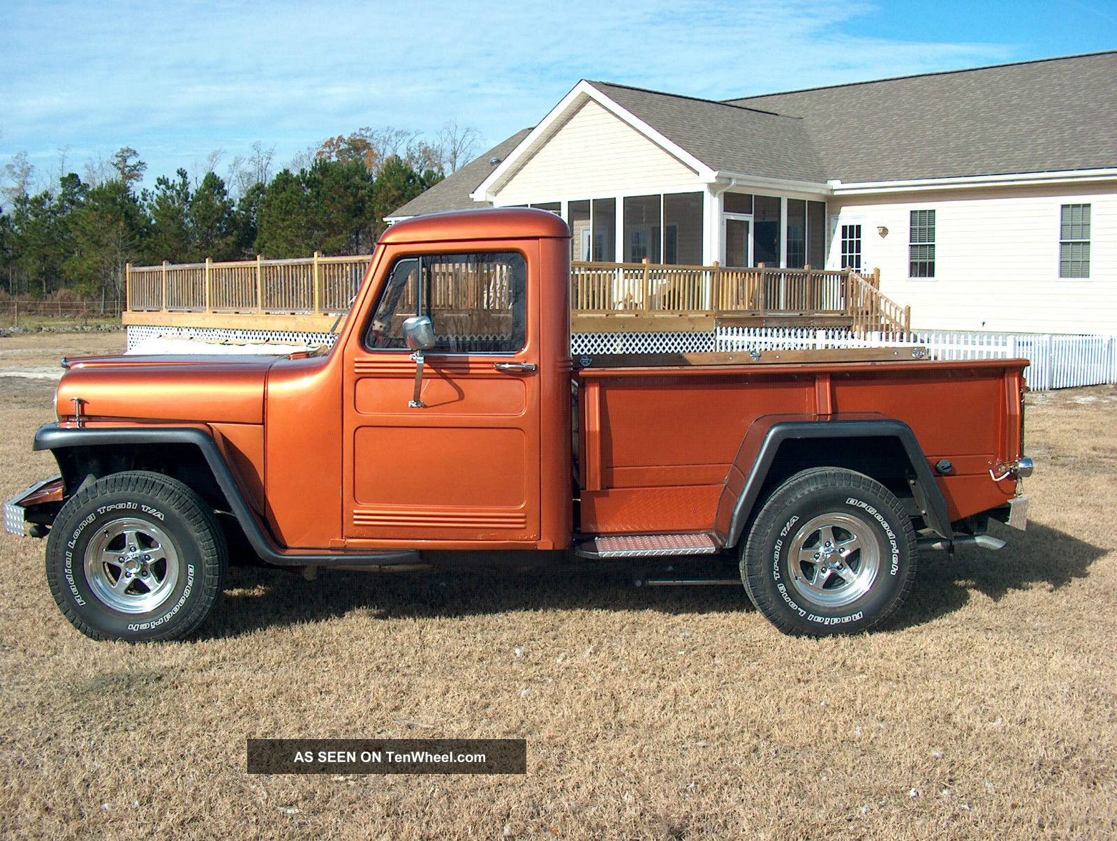 Willys pickup photo - 7