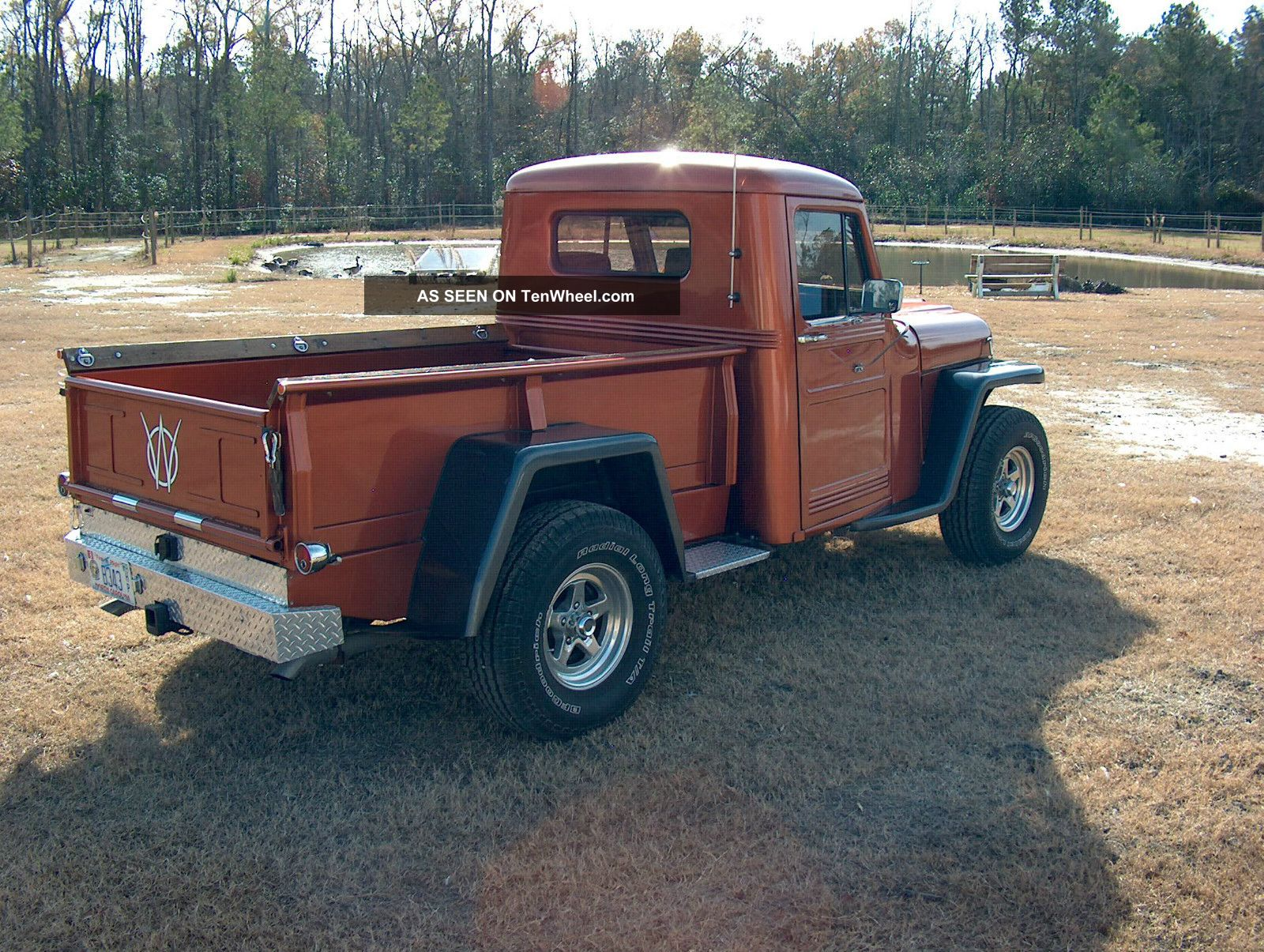Willys pickup photo - 8
