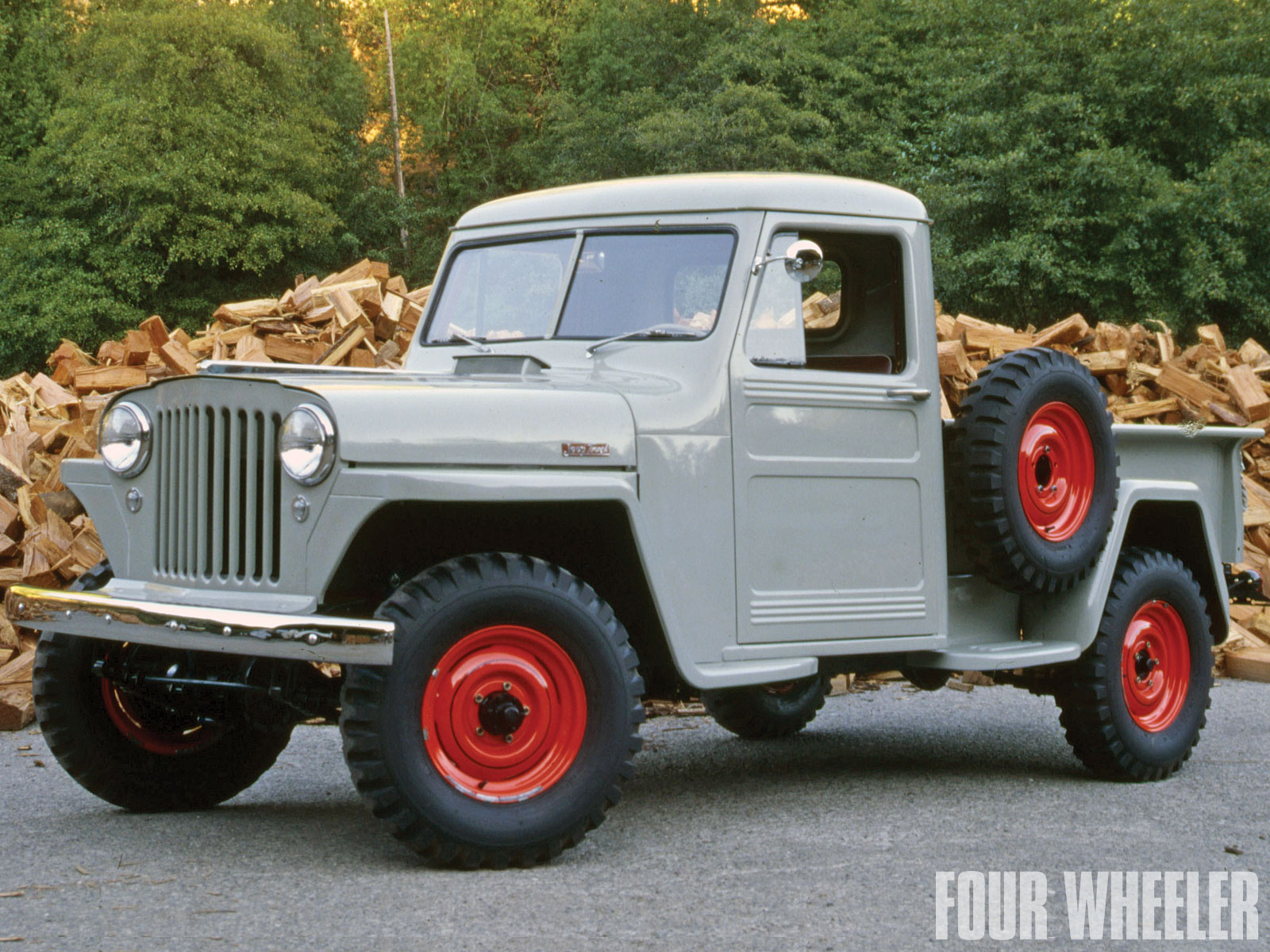 Willys pickup photo - 9
