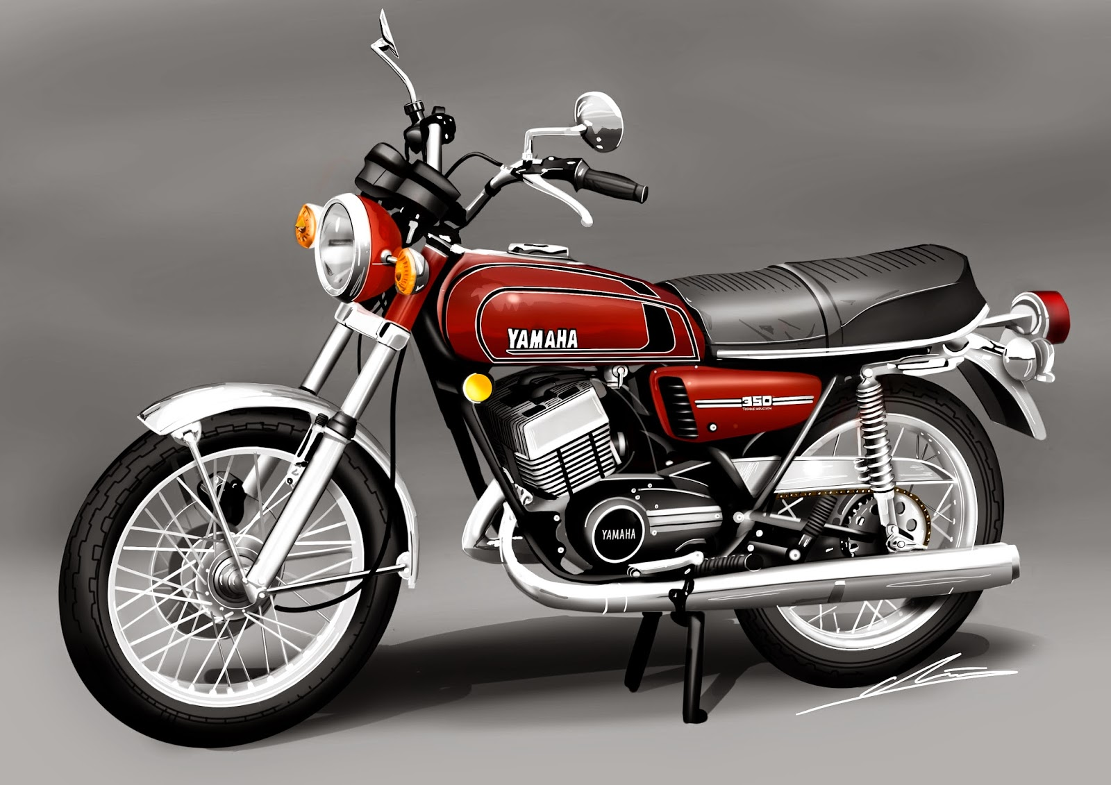 Yamaha 350 photo - 3