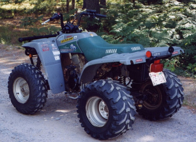 Yamaha timberwolf photo - 4