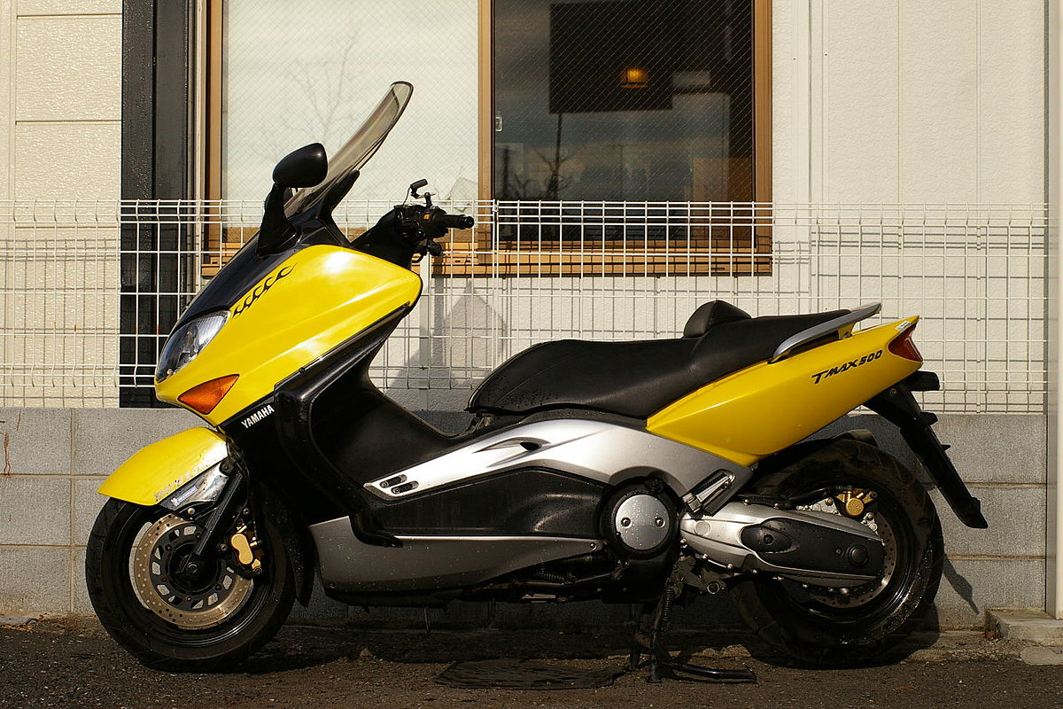 Yamaha tmax photo - 4