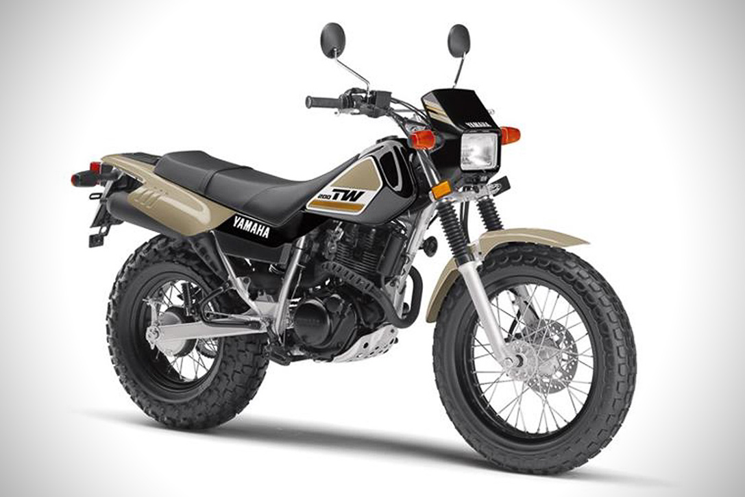Yamaha tw200 photo - 1