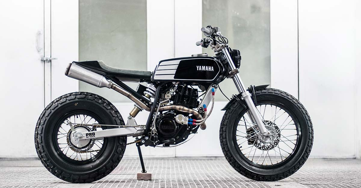 Yamaha tw200 photo - 3