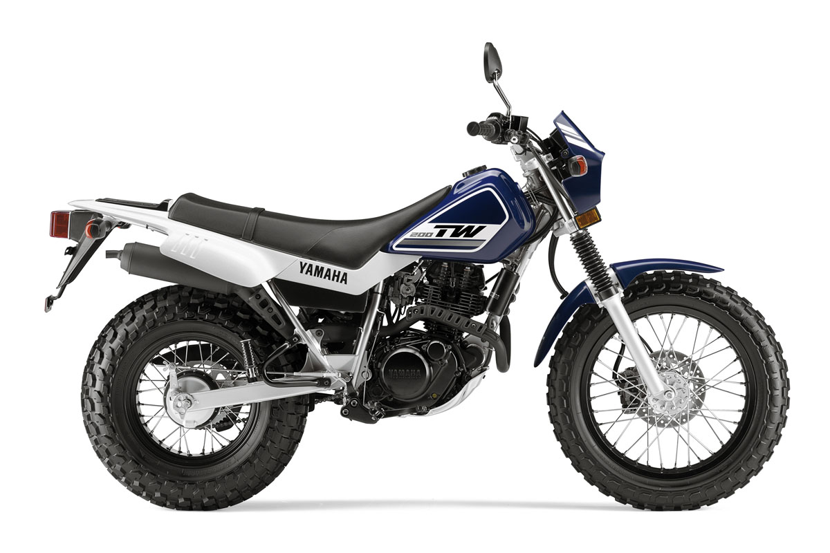 Yamaha tw200 photo - 7