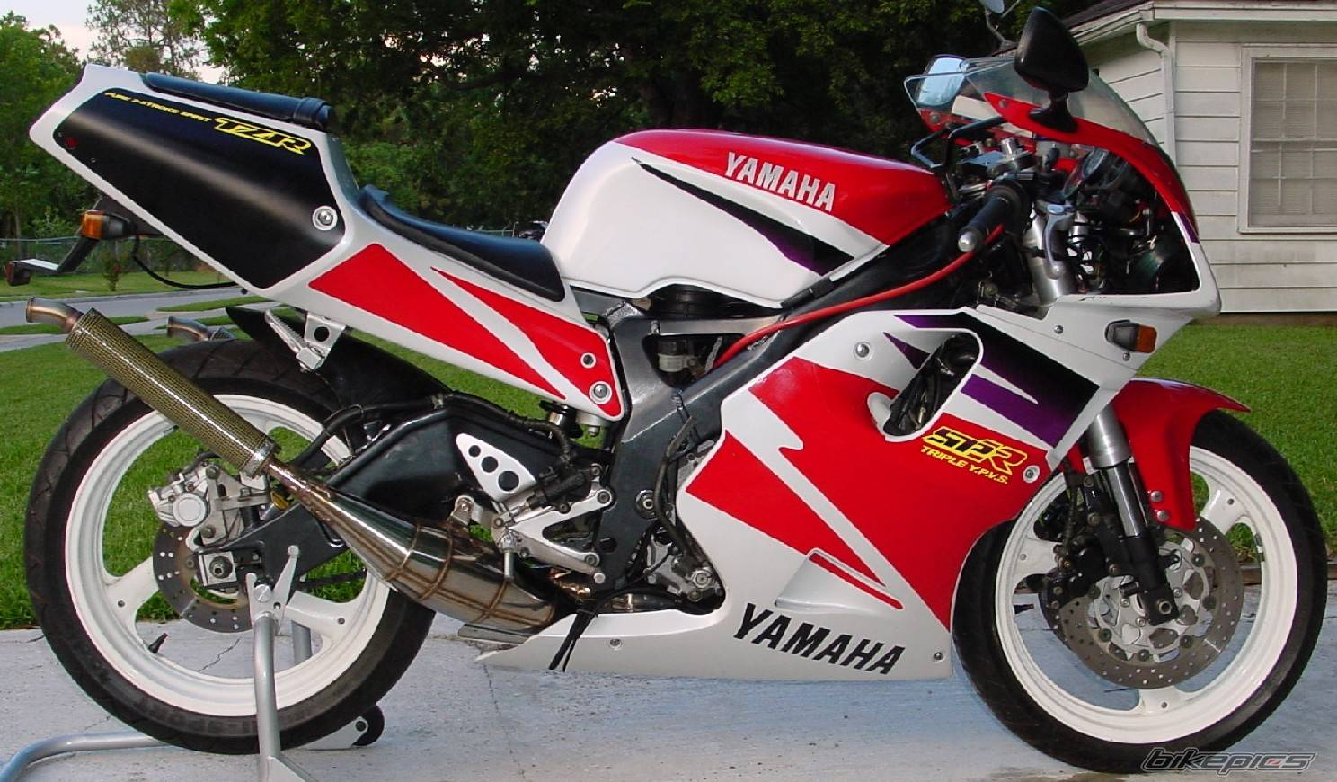 Yamaha tzr250 photo - 10
