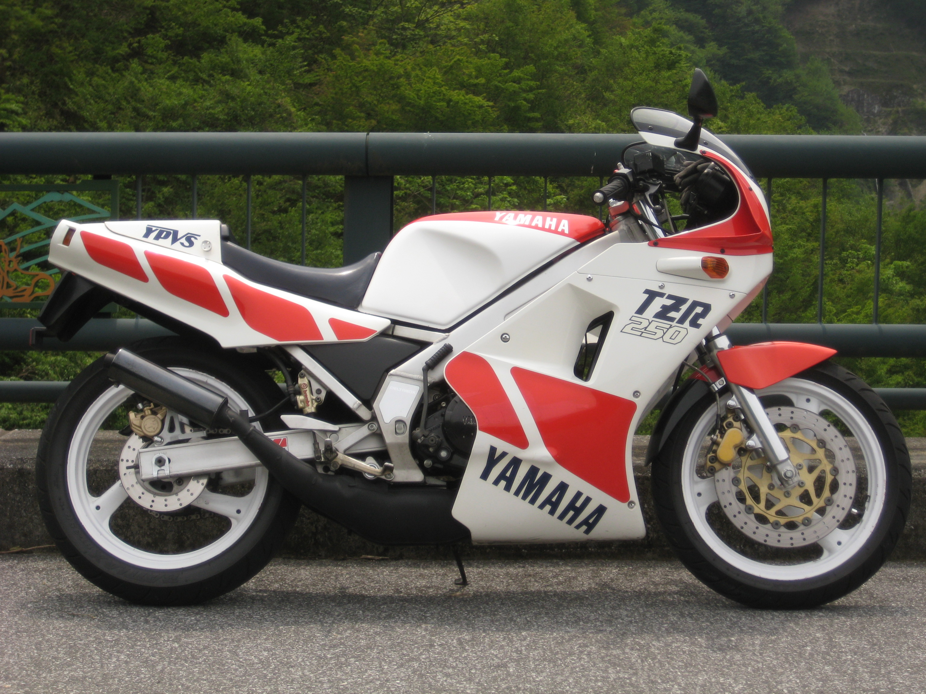 Yamaha tzr250 photo - 6